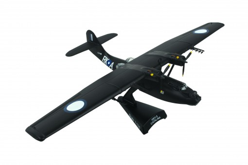 Black Cat British PBY-5A Catalina RAAF metallic by Postage Stamp PS5556-6 scale 1:150