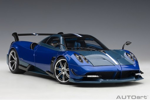 Blue Huayra BC Grigio Francia/Carbon 78277 AUTOart scale 1:18