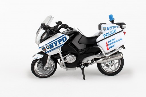 BMW NYPD Motorcycle Daron Toys NR67555 scale 1-18