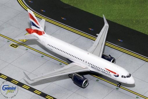 British Airways Airbus A320neo G-TTNA Gemini Jets G2BAW755 scale 1:200