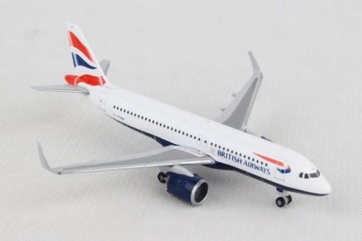British Airways Airbus A320neo G-TTNA Herpa die cast 532808 scale 1:500