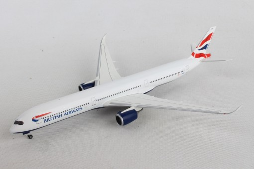 British Airways Airbus A350-1000 G-XWBA Herpa Wings 533126 scale 1-500