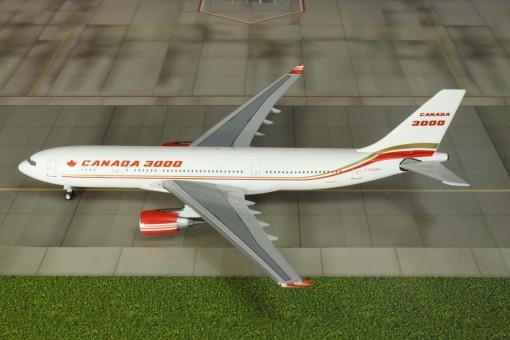 Canada 3000 Airbus A330-200 Reg# C-GGWA Aero Classics Scale 1:400