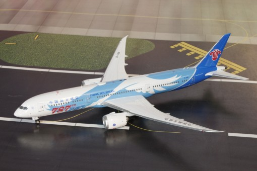 China Southern Boeing 787-9 B-1168 中国南方航空 787 Wings livery Phoenix 11510  diecast scale 1400