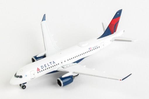 Delta Airbus A220-100(CS100) N101DU Herpa Wings 532952 scale 1:500