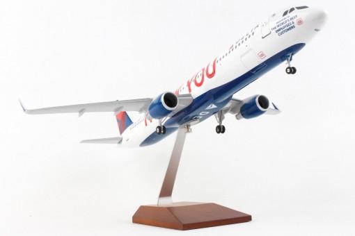 Delta Airbus A321 Thank You Skymarks N391DN SKR8425 scale 1:100