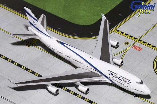El Al Boeing 747-400 4X-ELB goodbye Flight Gemini Jets GJELY1810 scale 1:400