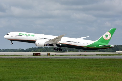 Eva Air Boeing 787-10 Dreamliner B-17801 JCWings JC2EVA309 scale 1:200