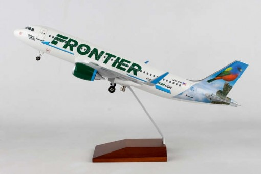 Frontier Airbus A320neo Georgia the Painted Bunting N317FR Skymarks Supreme SKR8334 scale 1:100