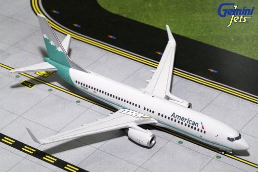 American Airlines B737-800 Scimitars 'Reno Air Retro' Livery N916NN Geminijets G2AAL703 Scale 1:200