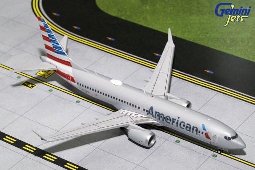 American Airlines Boeing B737 Max 8 Reg.# N324RA GeminiJets G2AAL704  Scale 1:200