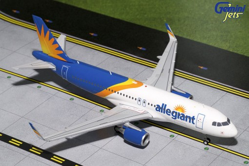 Allegiant New Livery Airbus A320-200 Sharklets Gemini G2AAY664 Scale 1:200