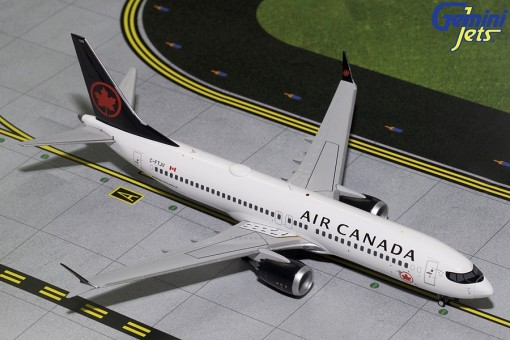 Air Canada Boeing B737 Max 8 C-FTJV GeminiJets G2ACA706 Scale 1:200
