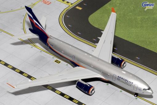 Aeroflot Airbus A330-200 Reg# VQ-BBF Gemini Jets G2AFL370  Scale 1:200