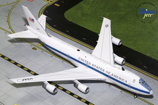 USAF E-4B (747-200) 73-1676 Gemini G2AFO761 Scale 1:200