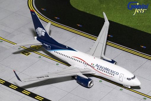 AeroMexico Boeing 737-700 winglets registration EI-DRD Gemini 200 G2AMX459 scale 1:200