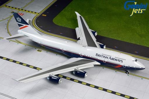 British Airways Boeing 747-400 Landor Retro Livery G-BNLY Gemini200 G2BAW840 scale 1:200