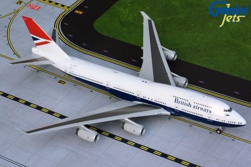 British Airways Boeing 747-400 G-CIVB Negus 100 years livery Gemini200 G2BAW841 scale 1:200