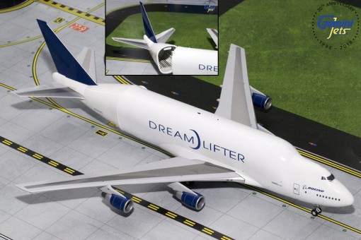 Last One! Limited! New Mold! Boeing 747LCF Dreamlifter N747BC Gemini Jets  G2BOE723 Scale 1:200