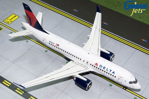 Delta Airlines Airbus A220-200 (CS Bombardier) N102DU Gemini 200 G2DAL808 scale 1:200