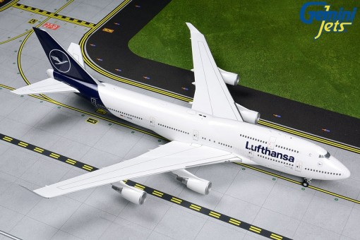 Lufthansa Boeing 747-400 D-ABVM New Livery Gemini200 G2DLH792 scale 1:200