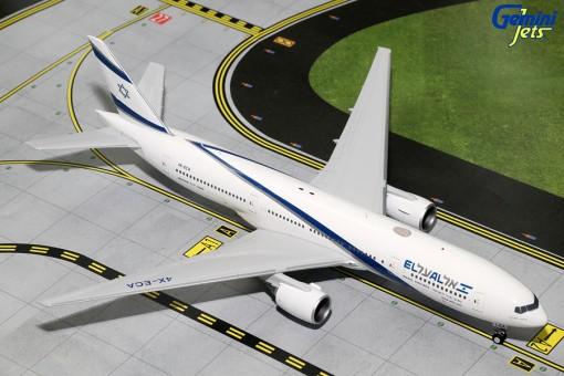 El Al Boeing 777-200ER Reg# 4X-ECA Gemini 200 G2ELY472 Scale 1:200