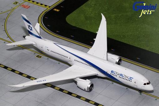 El Al Israel Airlines Boeing B787-9 4X-EDA Gemini G2ELY692 Scale 1:200