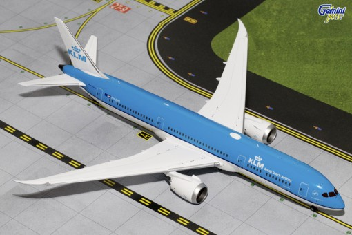 KLM Boeing B787-9 Dreamliner Reg# PH-BHA Gemini Jets  G2KLM545 Scale 1:200