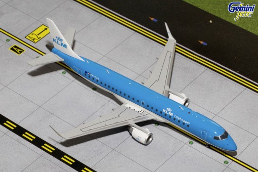 KLM Cityhopper Embraer ERJ-190 Reg# PH-EZA Gemini G2KLM559 1:200