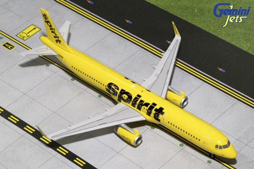 Spirit Airbus A321-200S Sharklets  Reg# N668NK Gemini 200 G2NKS620 Die-Cast 1:200
