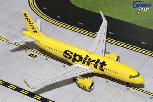 Spirit Airbus A320neo N902NK Gemini G2NKS681 Scale 1:200