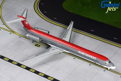 Northwest McDonnel Douglas MD-80 N314RC (bowling shoe livery) Gemini 200 G2NWA811 scale 1:200