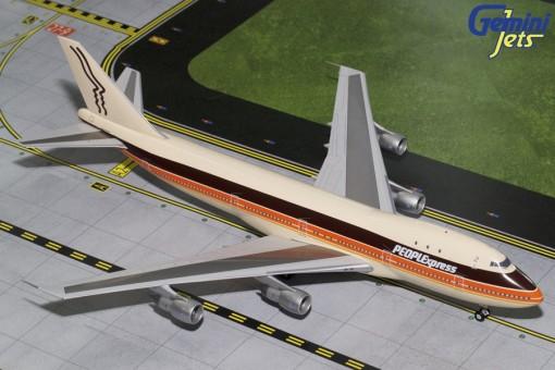 People Express Boeing 747-100 N603PE Gemini G2PEX695 Scale 1:200