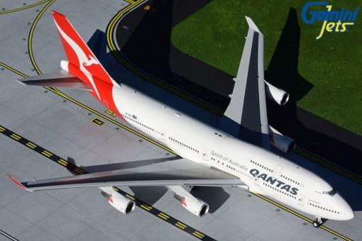 Qantas Boeing 747-400 Longreach VH-OEH Hervey Bay Gemini200 die-cast G2QFA734 scale 1:200