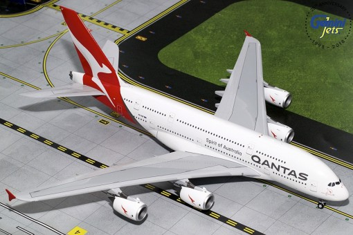 Qantas Airbus A380-800 New Expo 2020 Reg# VH-OQF Gemini 200 G2QFA748 scale 1:200