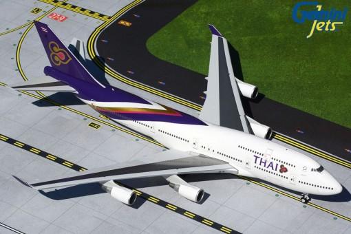 Thai Airways Boeing 747-400 HS-TGP Gemini200 die-cast G2THA866 scale 1:200