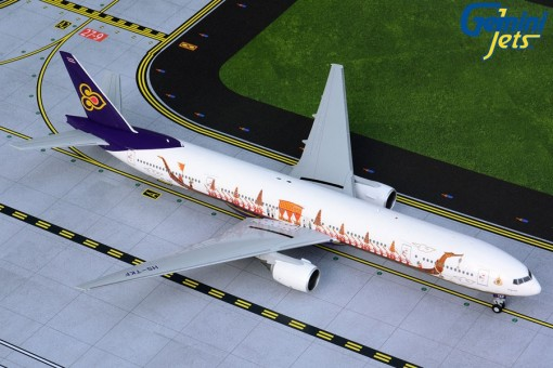 Thai Airways Boeing 777-300 HS-TKF Royal Barge Gemini G2THA875 scale 1:200