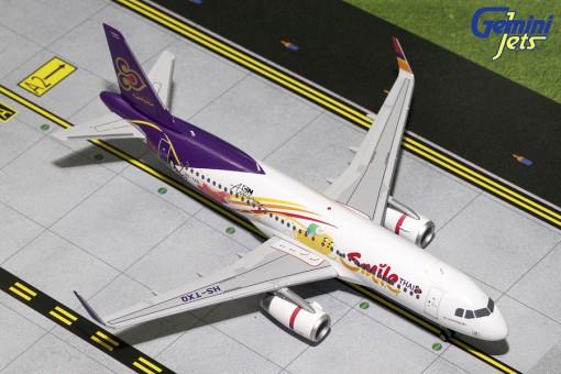 Thai Smile Airbus A320-200S Sharklets Reg# HS-TXQ Gemini Jets G2THD617 Scale 1:200