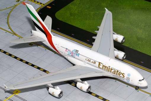 "Emirates Airlines Airbus A380 ""England Rugby World Cup"" Reg# A6-EEN Gemini Jets G2UAE565 Scale 1:200"