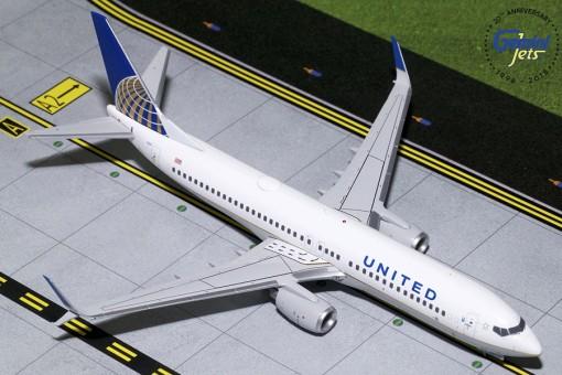 United Airlines Boeing 737-800 Scimitars N14237 Geminijets G2UAL759 scale 1:200