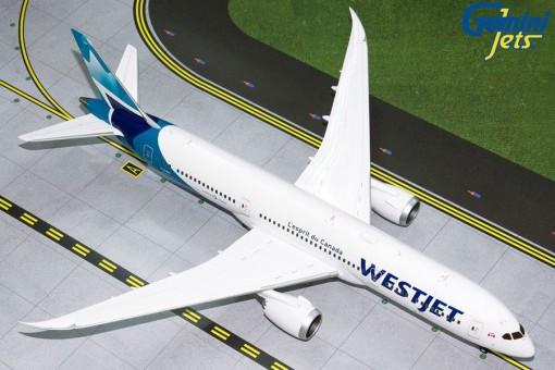 Westjet Boeing B787-9 Dreamliner new livery C-GUDH Gemini Jets G2WJA826 scale 1:200