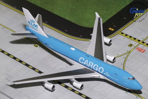 KLM Cargo Boeing 747-400F New Livery PH-CKA GJKLM1827 scale 1:400