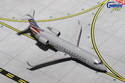American Eagle Bombardier CRJ-200 Current Livery Reg# N428AW Gemini Jets GJAAL1567 Scale 1:400