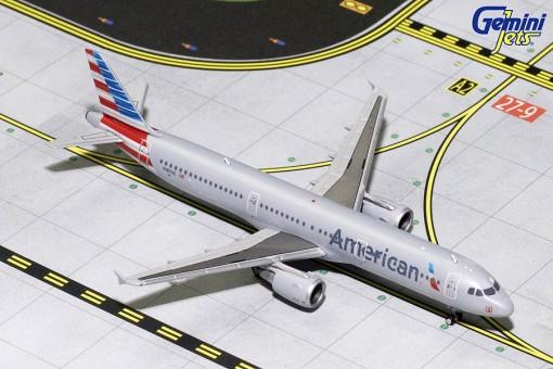 American Airbus A321 N187US Gemini Jets GJAAL1704 die-cast scale 1:400