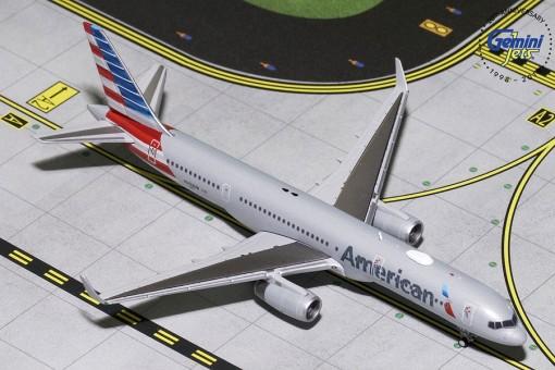 American Airlines Boeing 757-200 W Winglets N203UW Gemini Jets GJAAL1797 Scale 1:400