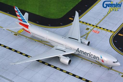 American Boeing 777-300 N735AT Gemini GJAAL1865 scale 1:400