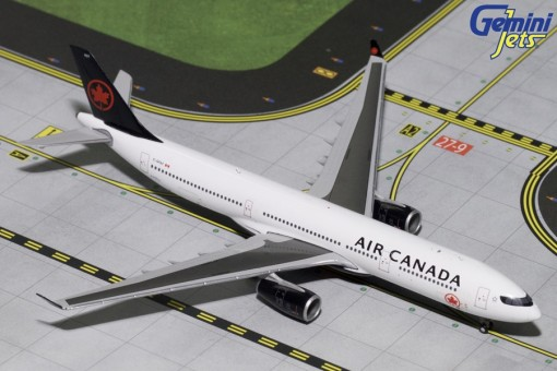 Air Canada A330-300 new 2017 livery registration: C-GFAF Gemini GJACA1737 scale 1:400