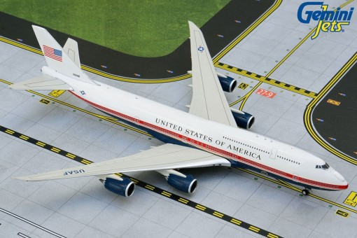 US Air Force One Boeing 747-8i Presidential 30000 Proposed livery Gemini GJAFO1913 scale 1:400