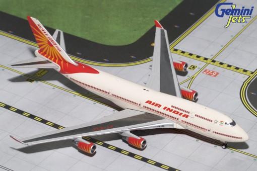 Air India Boeing 747-400 Reg# VT-EVA  Geminijets GJAIC1638 Scale 1:400