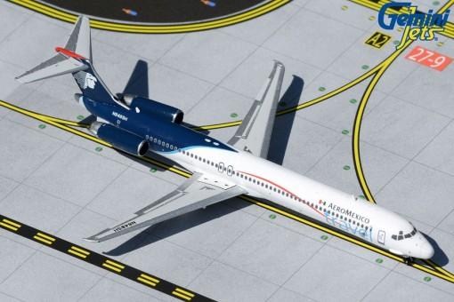 AeroMexico Travel MD-83 N956DL McDonnell Douglas Gemini Jets GJAMX1434 scale 1:400
